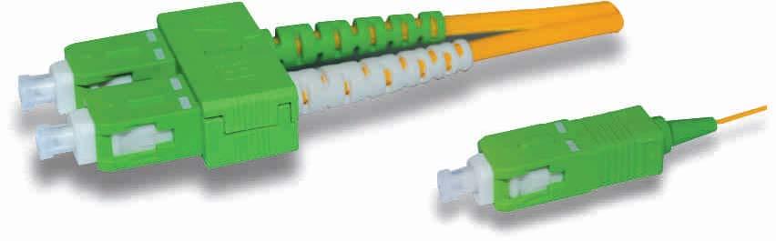 光纤跳线用来做从设备到光纤布线链路的跳接线。有较厚的保护层,一般用在光端机和终端盒之间的连接。 光纤跳分类   光纤跳线按传输媒介的不同可分为常见的硅基光纤的单模、多模跳线,还有其它如以塑胶等为传输媒介的光纤跳线;按连接头结构形式可分为:FC跳线、SC跳线、ST跳线、LC跳线、MTRJ跳线、MPO跳线、MU跳线、SMA跳线、FDDI跳线、E2000跳线、DIN4跳线、D4跳线等等各种形式。   1.